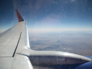 Southwest Wing Over Phoenix